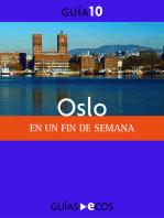 Oslo. En un fin de semana