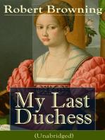 My Last Duchess (Unabridged)