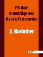 Grundzüge des Neuen Testaments - 2. Korinther