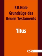 Grundzüge des Neuen Testaments - Titus
