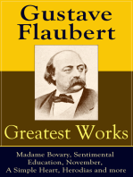 Greatest Works of Gustave Flaubert