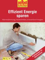 Effizient Energie sparen - Profiwissen für Heimwerker