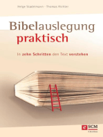 Bibelauslegung praktisch