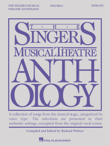 Singer's Musical Theatre Anthology - Volume 6: Soprano Book Only
