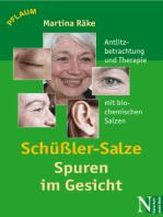 Schüßler-Salze - Spuren im Gesicht