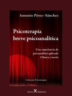 Psicoterapia breve psicoanalítica