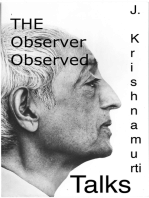 The Observer Observed