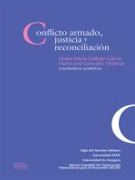 Conflicto armado, justicia y reconciliación