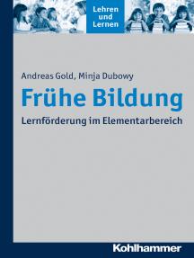 Frühe Bildung: Lernförderung im Elementarbereich