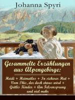 Gesammelte Erzählungen aus Alpengebirge