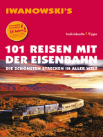 101 Reisen mit der Eisenbahn - Reiseführer von Iwanowski