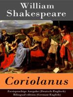 Coriolanus - Zweisprachige Ausgabe (Deutsch-Englisch) / Bilingual edition (German-English)