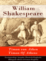 Timon von Athen / Timon Of Athens - Zweisprachige Ausgabe (Deutsch-Englisch) / Bilingual edition (German-English)