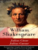 Julius Cäsar / Julius Caesar - Zweisprachige Ausgabe (Deutsch-Englisch) / Bilingual edition (German-English)