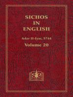 Sichos In English, Volume 20