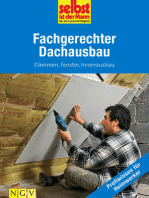 Fachgerechter Dachausbau - Profiwissen für Heimwerker
