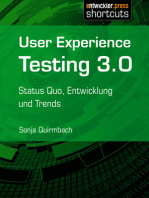 User Experience Testing 3.0
