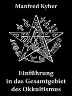 Einführung in das Gesamtgebiet des Okkultismus: Logenwesen, Magie des Mittelalters, Spiritismus, Hypnose, Gespenster, Geister, Träume, Trauerlebnis, Hellsehen, Prophetie, Schicksal, freier Wille, Gottesbegriff und vieles mehr