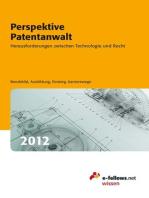 Perspektive Patentanwalt 2012