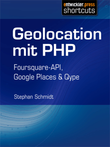Geolocation mit PHP: Foursquare-API, Google Places & Qype