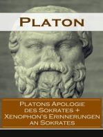 Platons Apologie des Sokrates + Xenophon's Erinnerungen an Sokrates