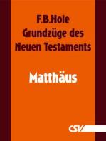 Grundzüge des Neuen Testaments - Matthäus