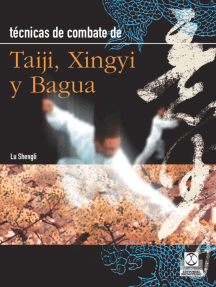 Técnicas de combate: Taiji, Xingyi y Bagua