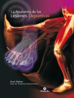 La anatomía de las lesiones deportivas (Color)