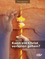 Kann ein Christ verloren gehen?