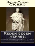 Reden gegen Verres: Ciceros meisterhafte Rhetorik in seiner bekannteste Gerichtsrede: Die Kunst der Rhetorik in Rechtswissenschaft