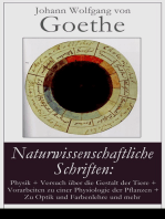 Naturwissenschaftliche Schriften