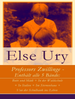 Professors Zwillinge - Enthält alle 5 Bände