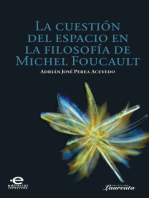 La cuestión del espacio en la filosofía de Michel Foucault