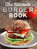 The Ultimate Burger Book: Delicious meat and vegetarian burger recipes