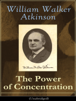 The Power of Concentration (Unabridged)