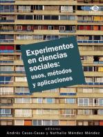 Experimentos en ciencias sociales