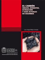 El carbón: origen, atributos, extracción y usos actuales en Colombia