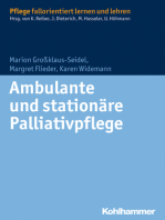 Ambulante und stationäre Palliativpflege