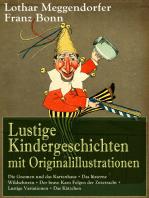 Lustige Kindergeschichten mit Originalillustrationen