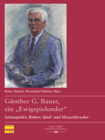 """Günther G. Bauer, ein """"Ewigspielender"""""""