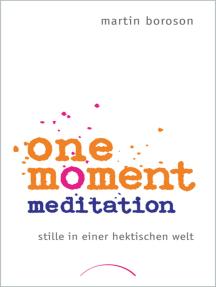 One Moment Meditation: Stille in einer hektischen Welt