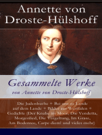 Gesammelte Werke von Annette von Droste-Hülshoff