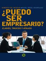 ¿Puedo ser empresario?