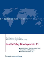 Health Policy Developments 13