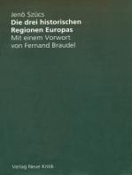 Die drei historischen Regionen Europas
