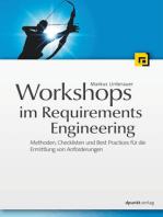 Workshops im Requirements Engineering