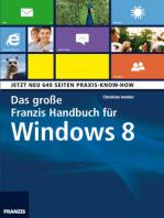 Das große Franzis Handbuch für Windows 8