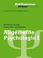 Allgemeine Psychologie I
