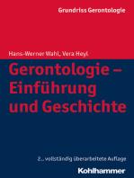 Gerontologie - Einführung und Geschichte