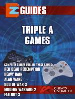 Triple A Games - red dead redemption - Heavy Rain - Alan wake -God of War 3 - Modern Warfare 3
